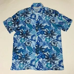 Tommy Bahama Men Camp Shirt Size Medium Fuego New